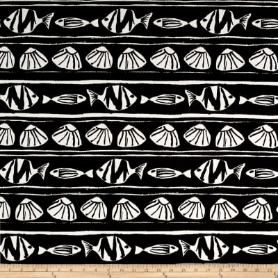 Premier Prints Indoor/Outdoor Caicos Black