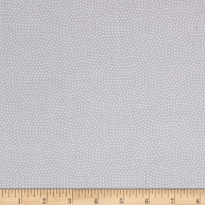 Timeless Treasures Spin Dot Grey