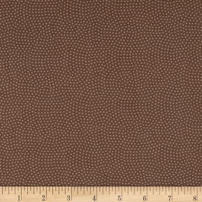 Timeless Treasures Spin Dot Mocha