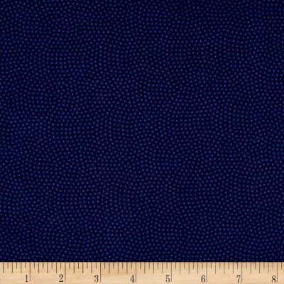 Timeless Treasures Spin Dot Navy