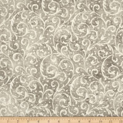 Timeless Treasures Shadow Chic Scroll Natural
