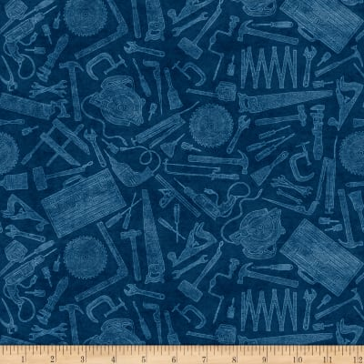 Craftsman Tool Toile Dark Denim