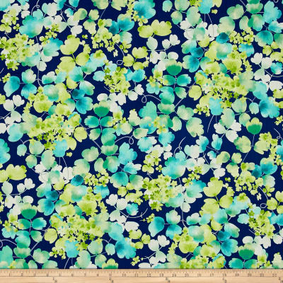 Delaney Leaf Vine Navy