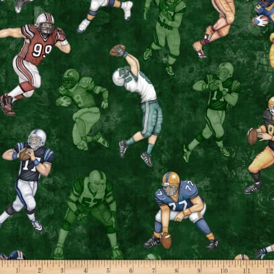 Gridiron Football Players Dark Green