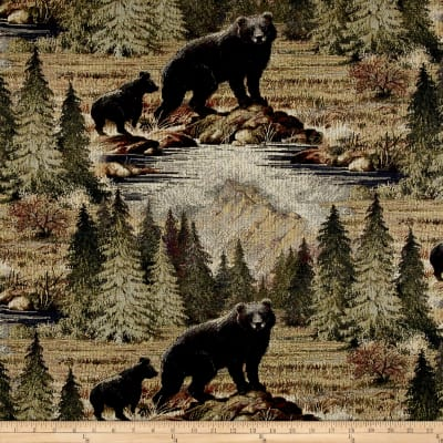 Regal Bradley Bear Jacquard Sierra