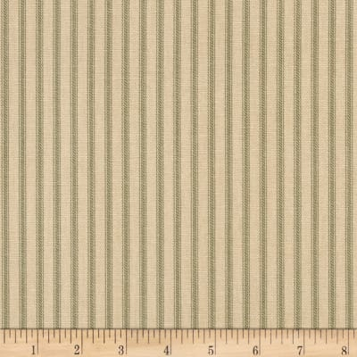 Magnolia Home Fashions Berlin Ticking Stripe Pine