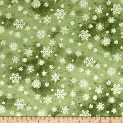 Winter's Friends Snowflake Medium Green
