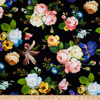 Catherine Digital Large Main Spaced Floral Multi