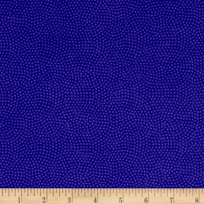 Timeless Treasures Flannel Spin Dot Grape