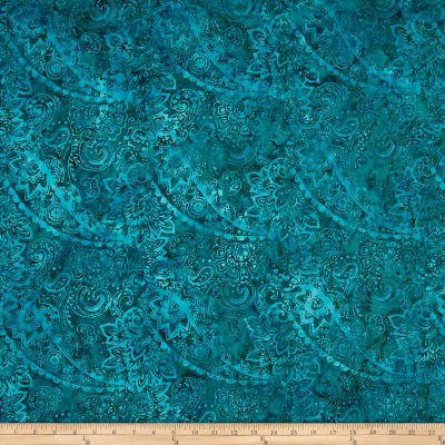 Timeless Treasures Tonga Batik Paisley Fashion Floral Mermaid
