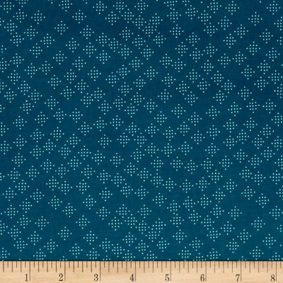 Cotton + Steel Lagoon Speckles Teal