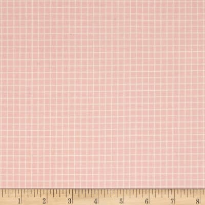 Cotton + Steel Snap To Grid Snap To Grid Cotton Candy Pink