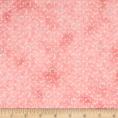 Serene Spring Droplets Blush Metallic