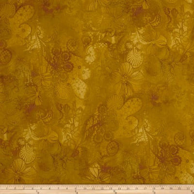 Miyako Damask Bloom Gold