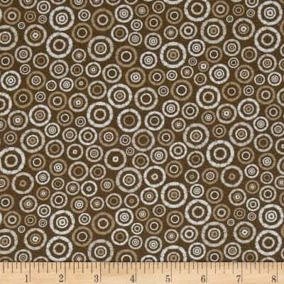 Kaufman Microlife Textures Digital Prints Geo Brown