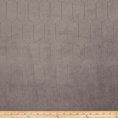 Regal Rowen Quilted Velvet Slate