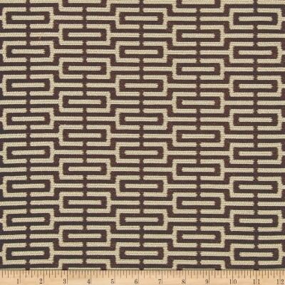 Crypton Home Emma Jacquard Chocolate