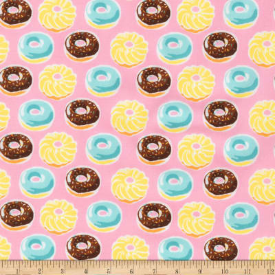 Kaufman Sevenberry Mini Prints Donuts Sweet