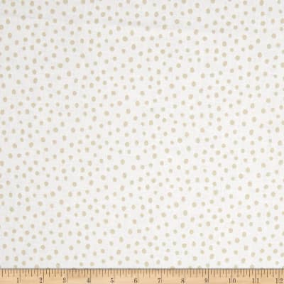 Kaufman Penned Pals Dots Tan