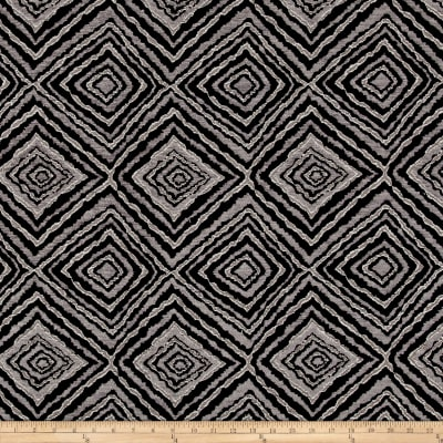 Marquee Abstract Chenille Jacquard Slate