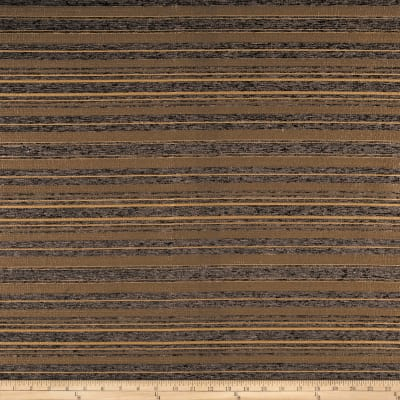 Julius Striped Chenille Jacquard Charcoal