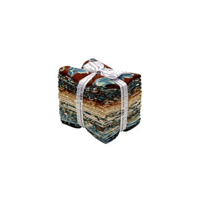 Kaufman Villa Romana Fat Quarter Bundle Spice Metallic