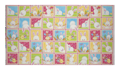 Hop To It Bunny Squares Multi