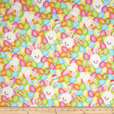 Hop To It Eggs & Bunnies Multi