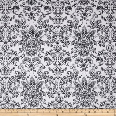 Romance Romantic Damask Gray