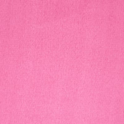 Michael Miller Minky Solid Minky Hot Pink