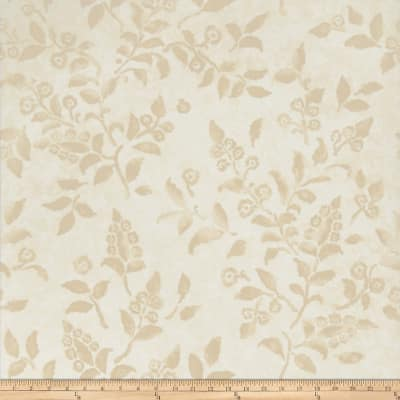 Fabricut 50024w Floreale Wallpaper Sesame 06 (Double Roll)