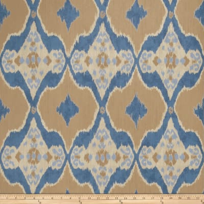 Fabricut 50026w Nomad Wallpaper Indigo 03 (Double Roll)