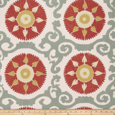Fabricut 50027w Suzani Wallpaper Canyon 01 (Double Roll)