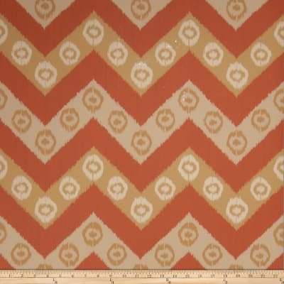 Fabricut 50034w Chevron Wallpaper Canyon 06 (Double Roll)
