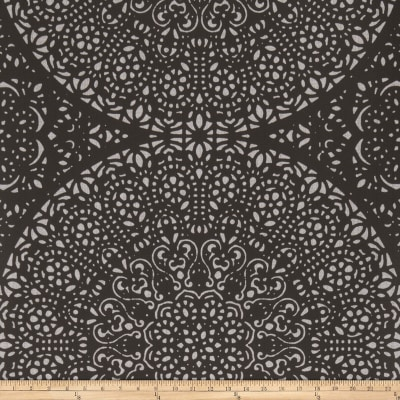 Fabricut 50048w Bohemia Chic Wallpaper Onyx 01 (Double Roll)