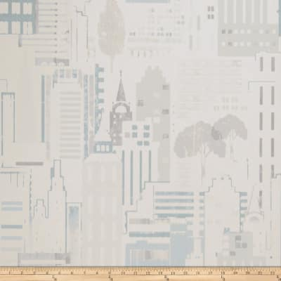 Fabricut 50065w Esplanade Wallpaper Seamist 01 (Double Roll)