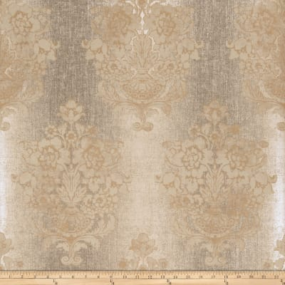 Fabricut 50087w Milana Wallpaper Chamois 01 (Double Roll)
