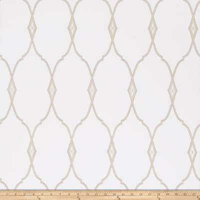 Fabricut 50089w Mirasol Wallpaper Flax 02 (Double Roll)