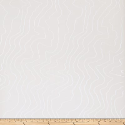 Fabricut 50105w Topograph Wallpaper Snowdrift 05 (Double Roll)