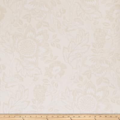 Fabricut 50108w Villetta Wallpaper Vanilla 01 (Double Roll)