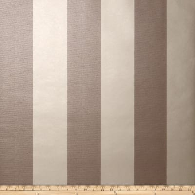 Fabricut 8827e Sutton Stripe Wallpaper S0035 Chocolate Mous (Triple Roll)