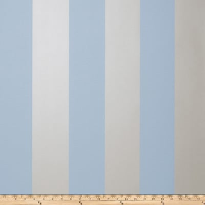 Fabricut 8827e Sutton Stripe Wallpaper S0512 Sky & Sand (Triple Roll)