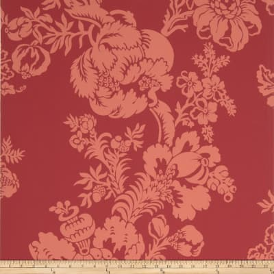 Fabricut 8830e Cathay Ii Wallpaper S0330 Rose (Triple Roll)