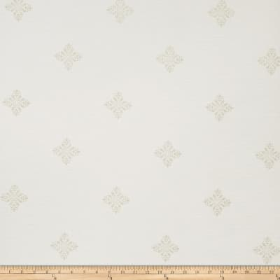 Fabricut Bacall Wallpaper Pearl (Double Roll)