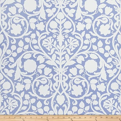Fabricut Bennett Wallpaper Periwinkle (Double Roll)