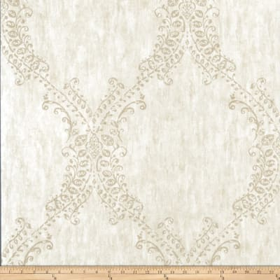 Fabricut Bevy Wallpaper Pearl (Double Roll)