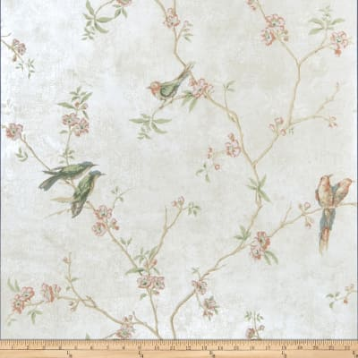 Fabricut Fanciful Wallpaper Pearl (Double Roll)