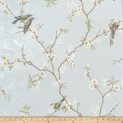 Fabricut Fanciful Wallpaper Duck Egg (Double Roll)