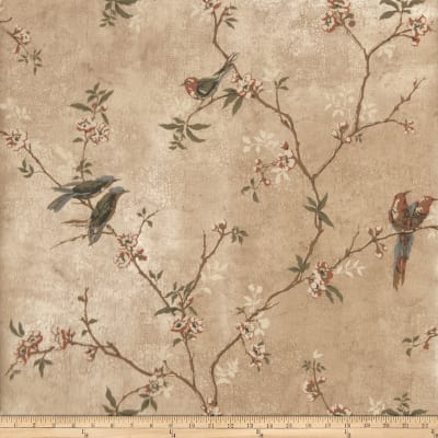 Fabricut Fanciful Wallpaper Gold (Double Roll)