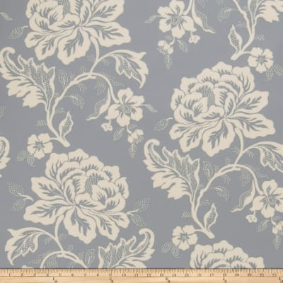 Fabricut Gabrielle Wallpaper Bleu (Double Roll)